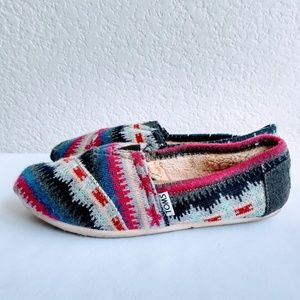 Tom's Winter Knit Women Size 6.5